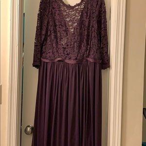 Full length bridesmaid dress